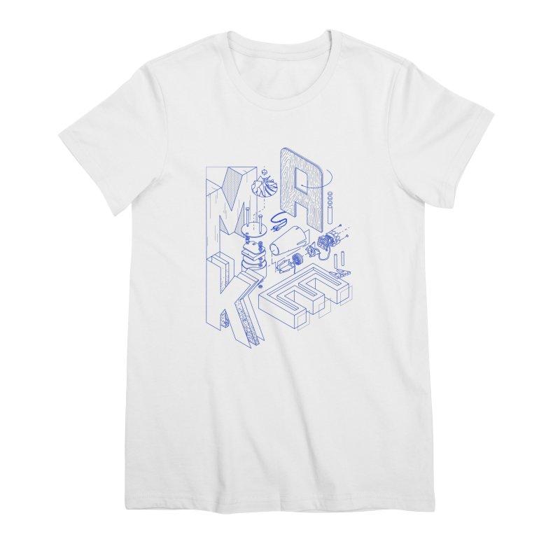 iso_MAKE Women's T-Shirt by Maker Wear
