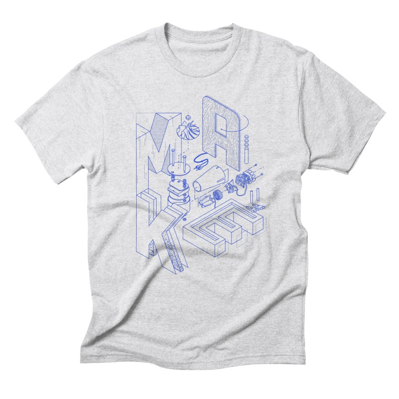 iso_MAKE Men's Triblend T-Shirt by Maker Wear