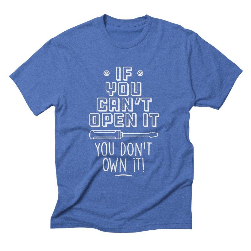 If you can't open it... Men's T-Shirt by Maker Wear
