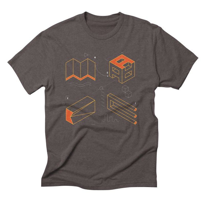 MAKE Men's T-Shirt by Maker Wear