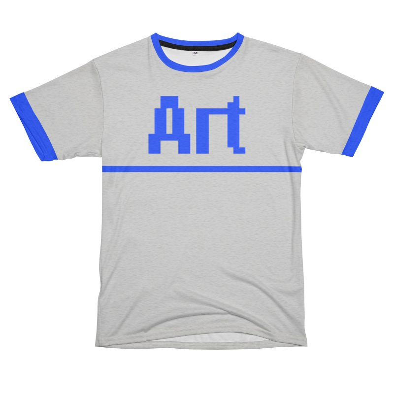 Art Women's Unisex French Terry T-Shirt Cut & Sew by Make with Jake Nickell, The Coolest Dude on Earth!