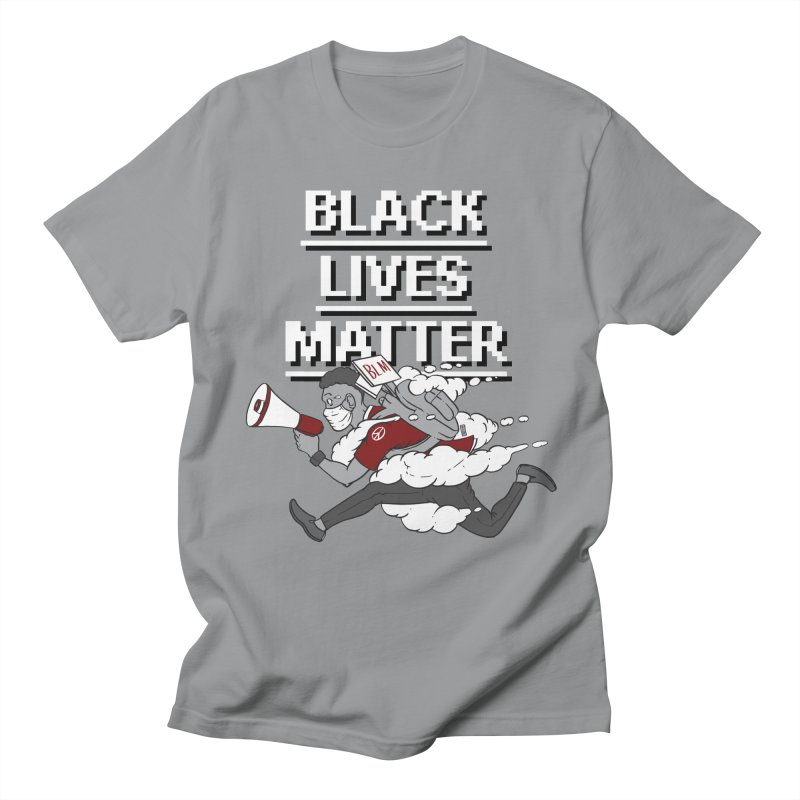 Urgent Messenger by Keni Thomas for Black Lives Matter Men's T-Shirt by Make with Jake Nickell, The Coolest Dude on Earth