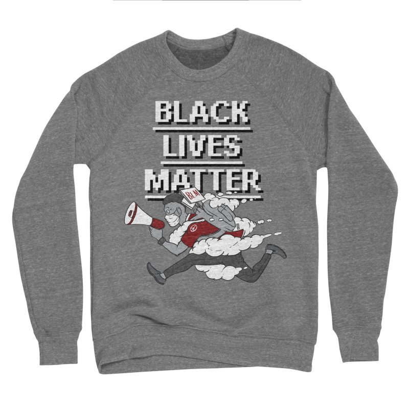 Urgent Messenger by Keni Thomas for Black Lives Matter Women's Sweatshirt by Make with Jake Nickell, The Coolest Dude on Earth