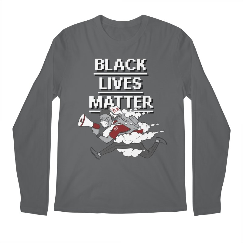Urgent Messenger by Keni Thomas for Black Lives Matter Men's Longsleeve T-Shirt by Make with Jake Nickell, The Coolest Dude on Earth