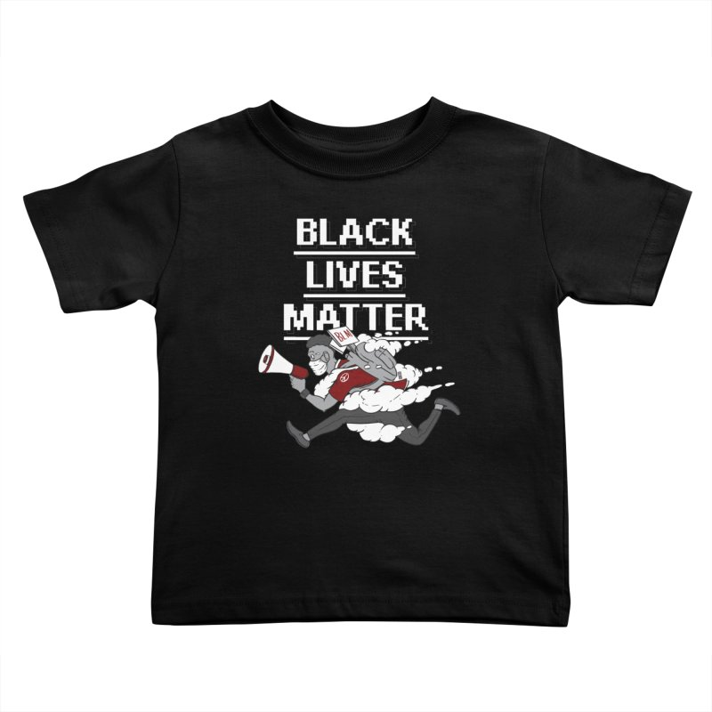 Urgent Messenger by Keni Thomas for Black Lives Matter Kids Toddler T-Shirt by Make with Jake Nickell, The Coolest Dude on Earth
