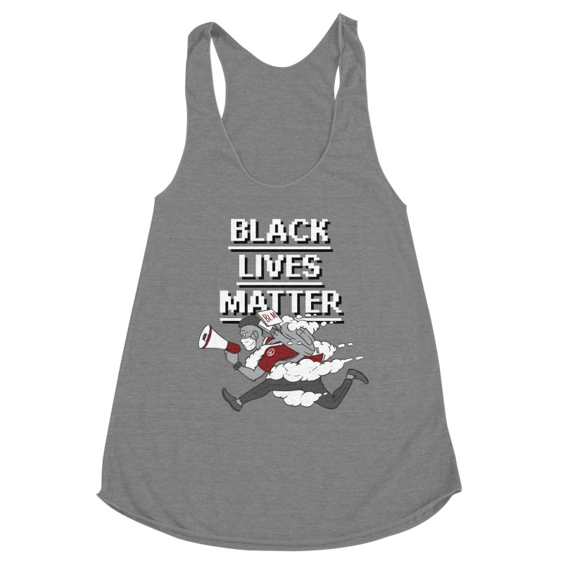 Urgent Messenger by Keni Thomas for Black Lives Matter Women's Tank by Make with Jake Nickell, The Coolest Dude on Earth
