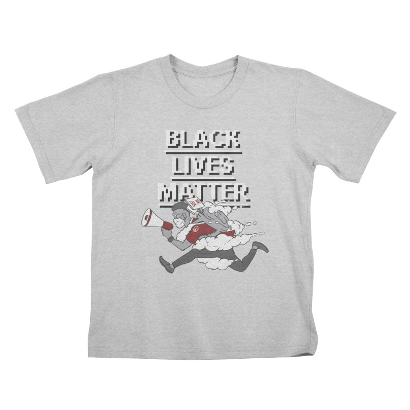 Urgent Messenger by Keni Thomas for Black Lives Matter Kids T-Shirt by Make with Jake Nickell, The Coolest Dude on Earth