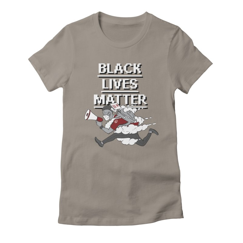 Urgent Messenger by Keni Thomas for Black Lives Matter Women's T-Shirt by Make with Jake Nickell, The Coolest Dude on Earth