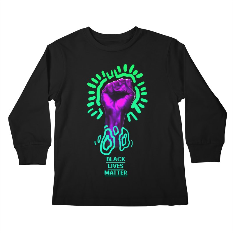 Oscar Joyo for Chicago Freedom School Kids Longsleeve T-Shirt by Make with Jake Nickell, The Coolest Dude on Earth