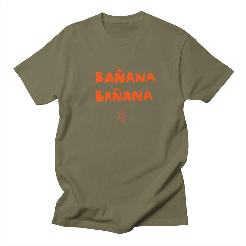Bañana Bañana Men's Regular T-Shirt by MAKI Artist Shop