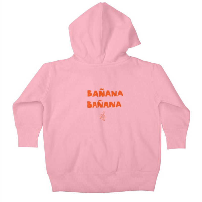 Bañana Bañana Kids Baby Zip-Up Hoody by MAKI Artist Shop