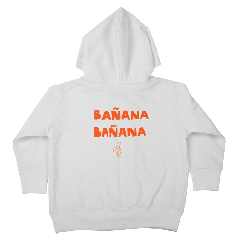 Bañana Bañana Kids Toddler Zip-Up Hoody by MAKI Artist Shop