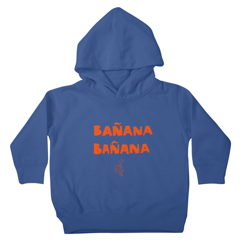 Bañana Bañana Kids Toddler Pullover Hoody by MAKI Artist Shop