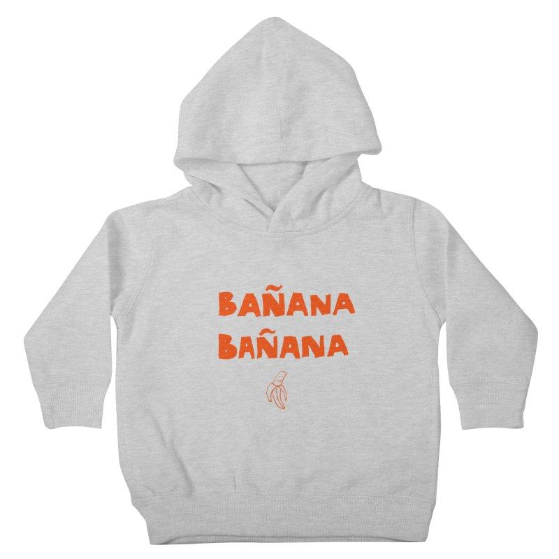 Bañana Bañana Kids Toddler Pullover Hoody by MAKI Artist Shop
