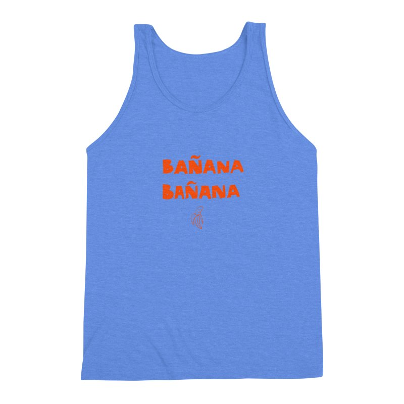 Bañana Bañana Men's Triblend Tank by MAKI Artist Shop