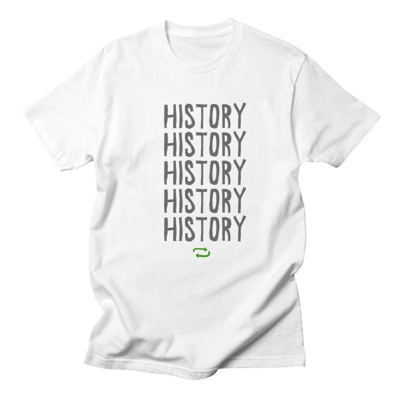 History Repeating Men's T-shirt by MAKI Artist Shop