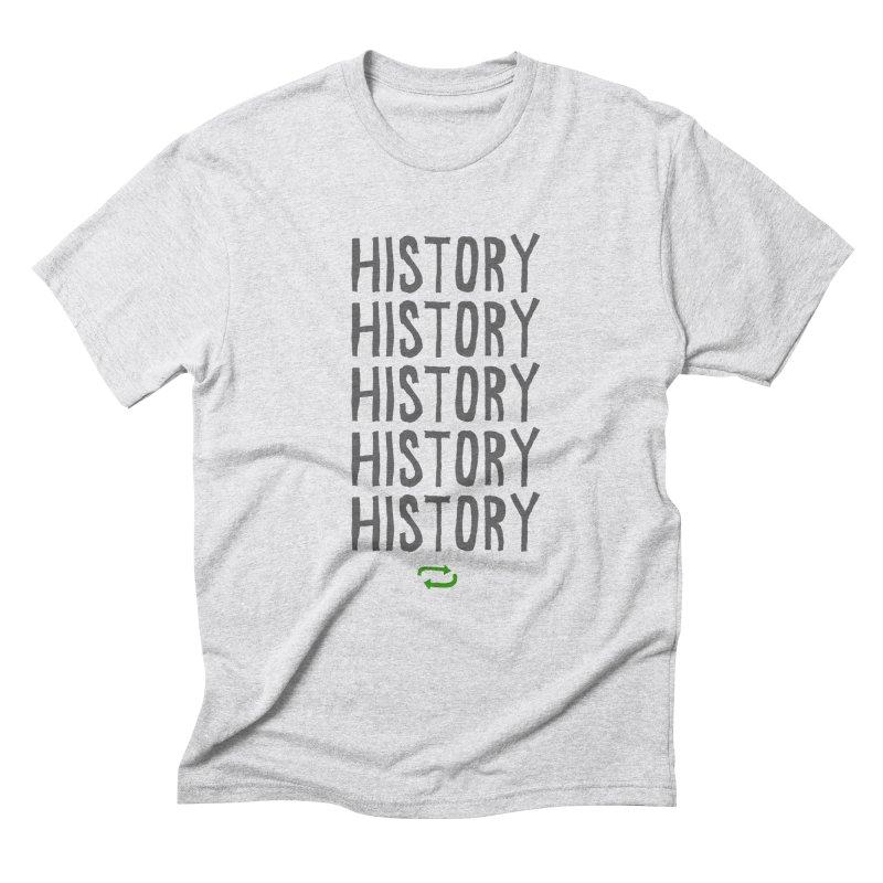 History Repeating Men's Triblend T-Shirt by MAKI Artist Shop