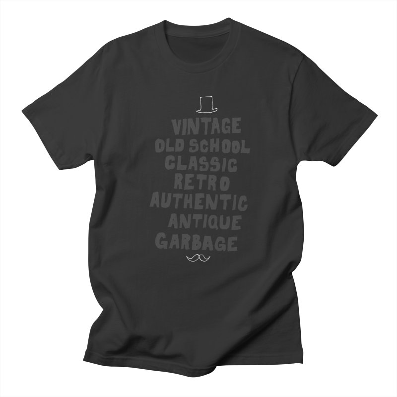 Vintage Garbage Men's T-Shirt by MAKI Artist Shop