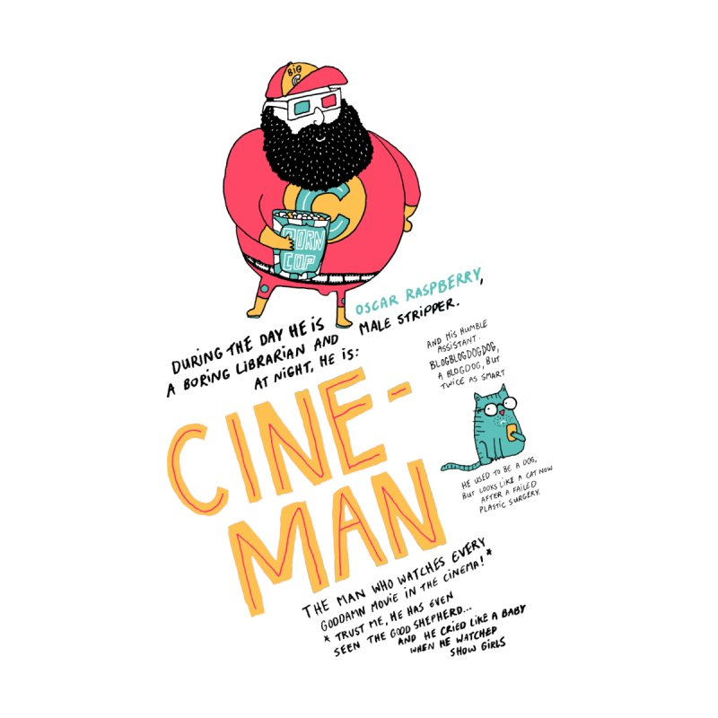 Cineman None  by MAKI Artist Shop