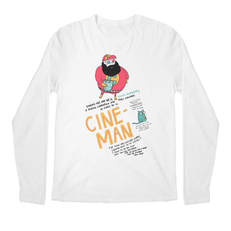 Cineman Men's Longsleeve T-Shirt by MAKI Artist Shop