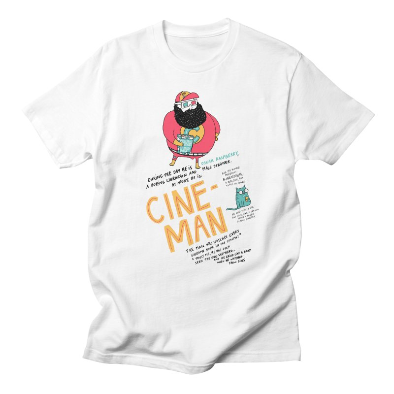 Cineman Men's T-Shirt by MAKI Artist Shop