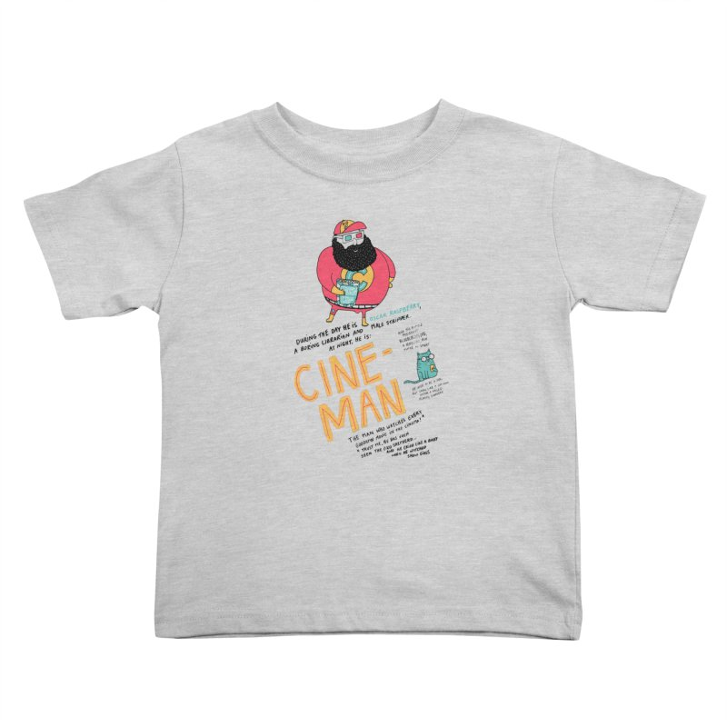 Cineman Kids Toddler T-Shirt by MAKI Artist Shop
