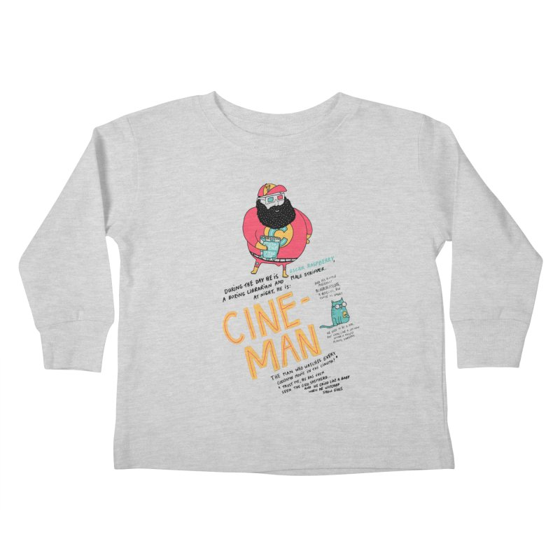 Cineman Kids Toddler Longsleeve T-Shirt by MAKI Artist Shop