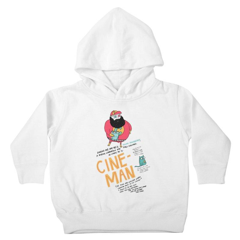 Cineman Kids Toddler Pullover Hoody by MAKI Artist Shop