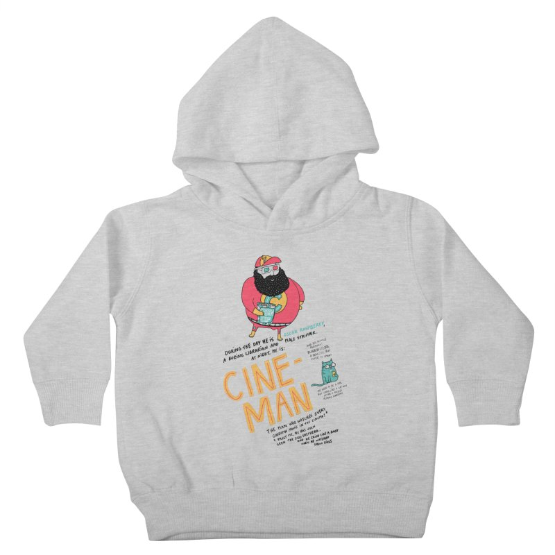 Cineman Kids Toddler Pullover Hoody by MAKI Artist Shop