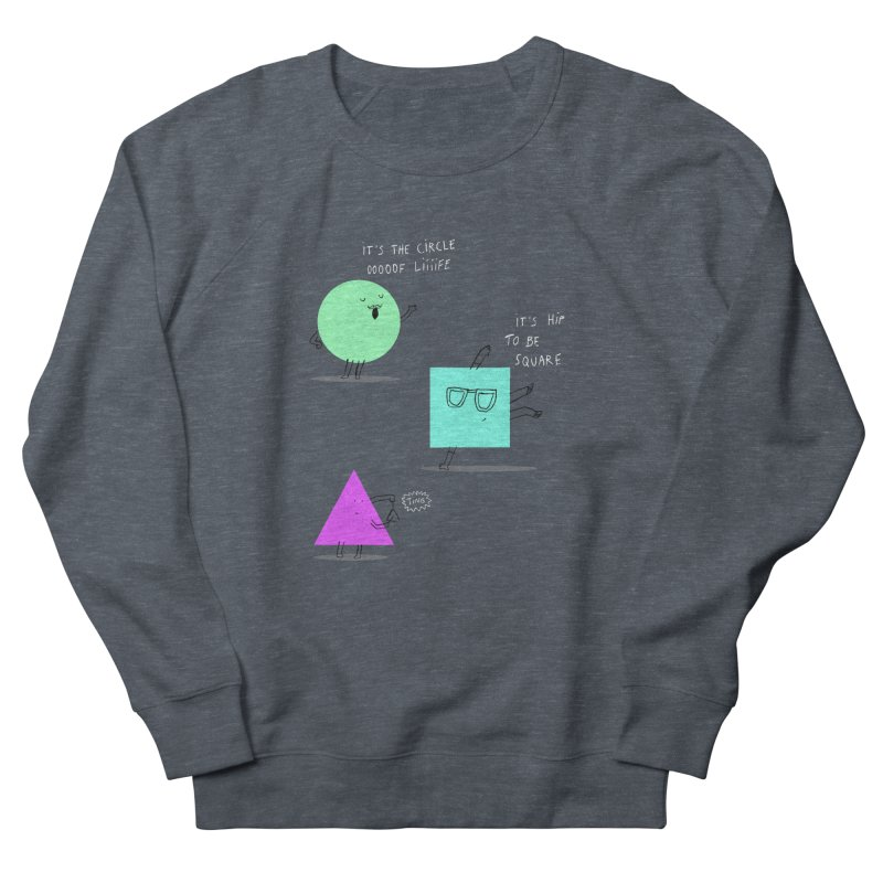 Shapes Men's Sweatshirt by MAKI Artist Shop