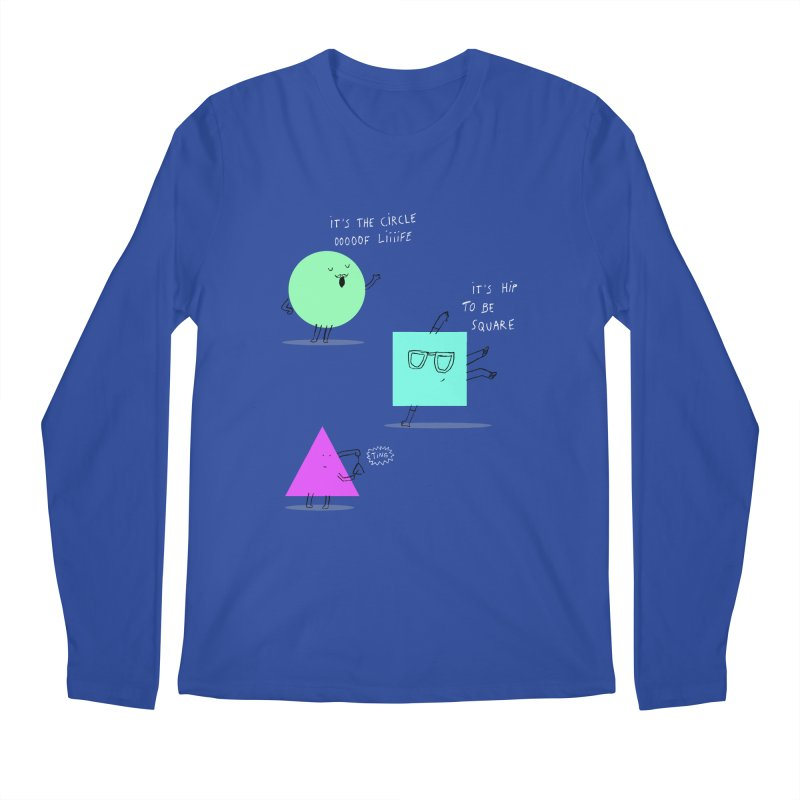 Shapes Men's Regular Longsleeve T-Shirt by MAKI Artist Shop