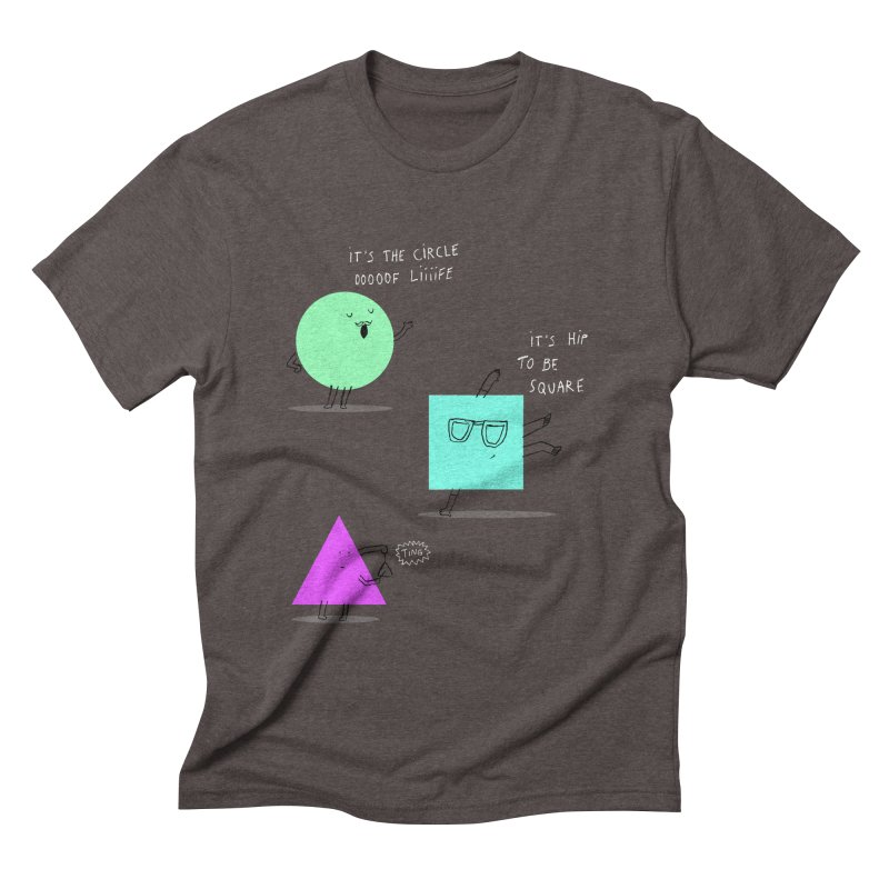 Shapes Men's Triblend T-shirt by MAKI Artist Shop