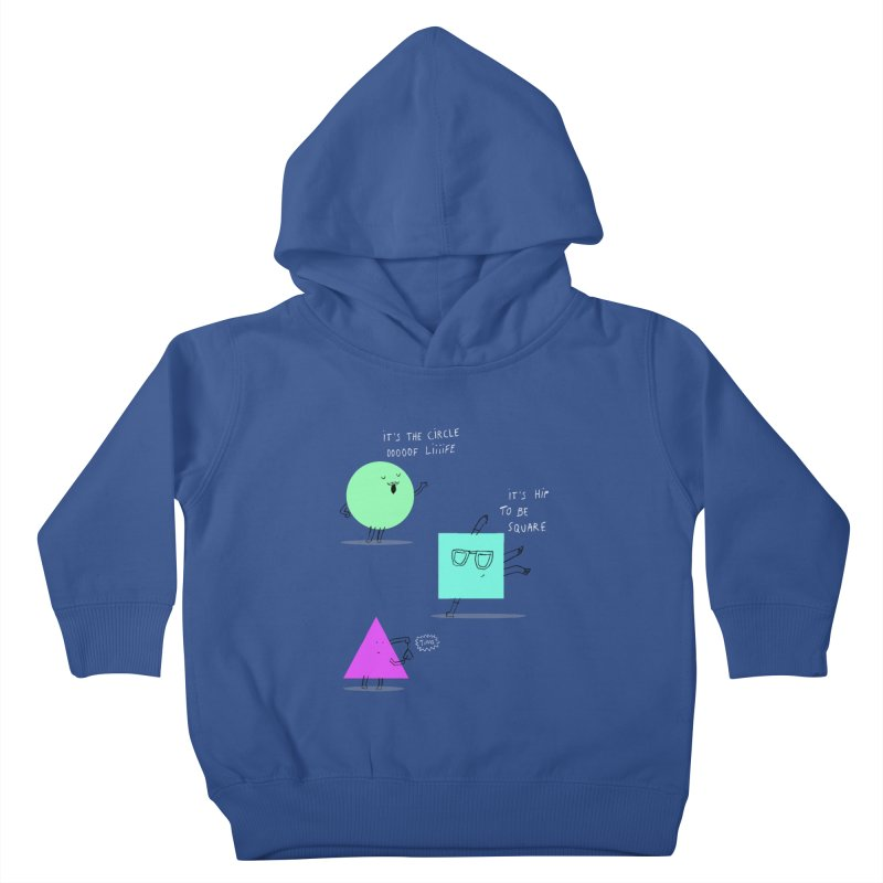Shapes Kids Toddler Pullover Hoody by MAKI Artist Shop