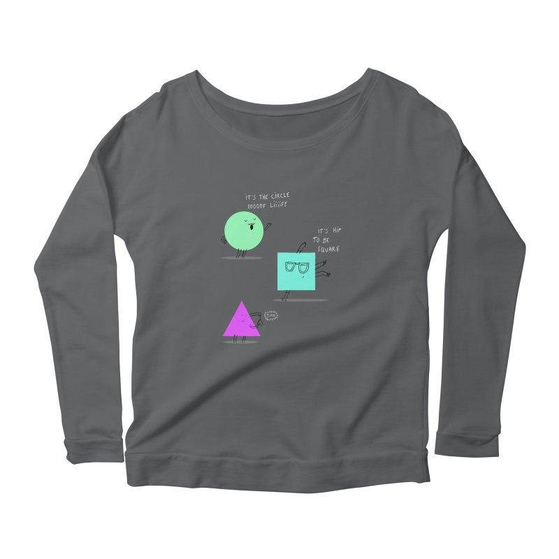 Shapes Women's Scoop Neck Longsleeve T-Shirt by MAKI Artist Shop