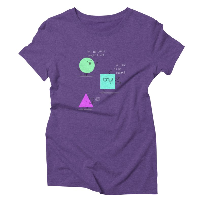 Shapes Women's Triblend T-Shirt by MAKI Artist Shop