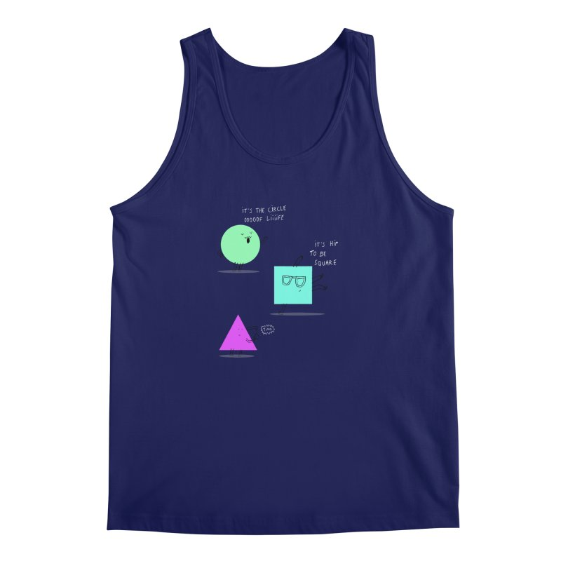 Shapes Men's Tank by MAKI Artist Shop