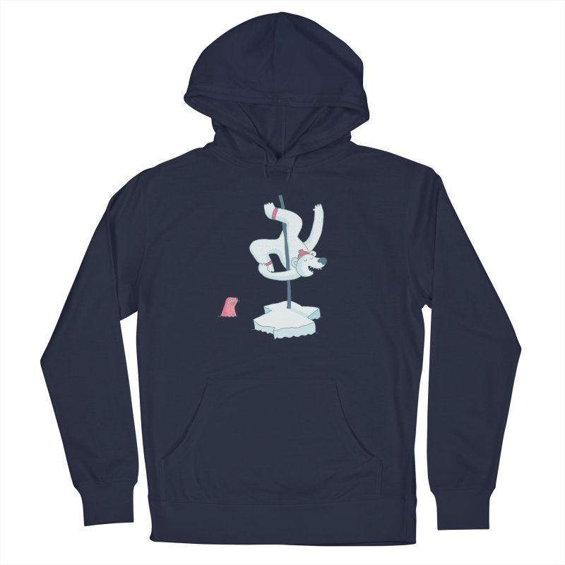 Polar Dance  Women's French Terry Pullover Hoody by MAKI Artist Shop