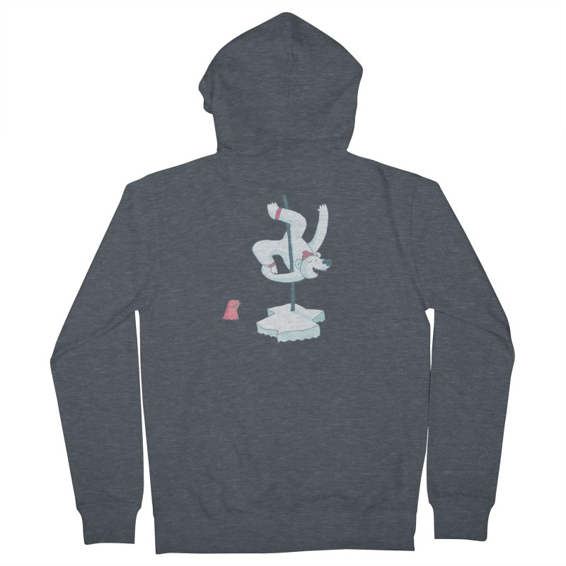 Polar Dance  Women's Zip-Up Hoody by MAKI Artist Shop
