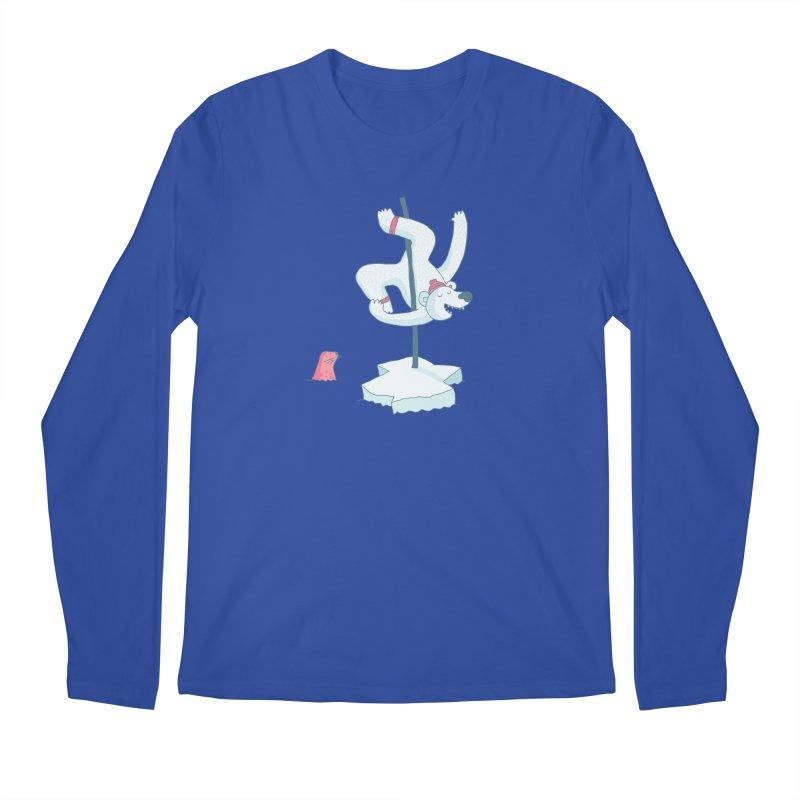 Polar Dance  Men's Regular Longsleeve T-Shirt by MAKI Artist Shop