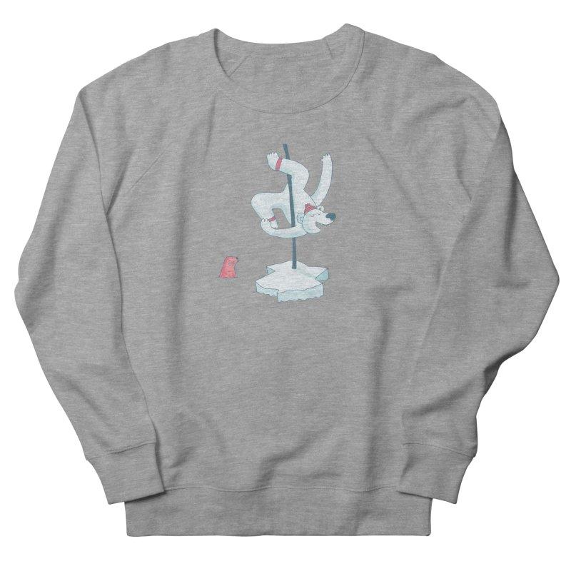 Polar Dance  Men's French Terry Sweatshirt by MAKI Artist Shop