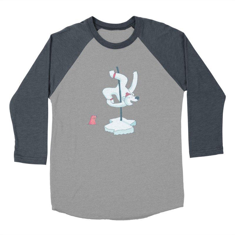 Polar Dance  Men's Baseball Triblend T-Shirt by MAKI Artist Shop