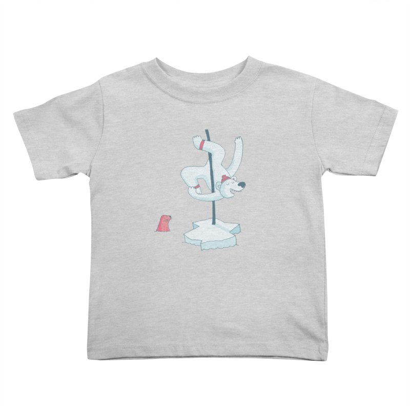 Polar Dance  Kids Toddler T-Shirt by MAKI Artist Shop
