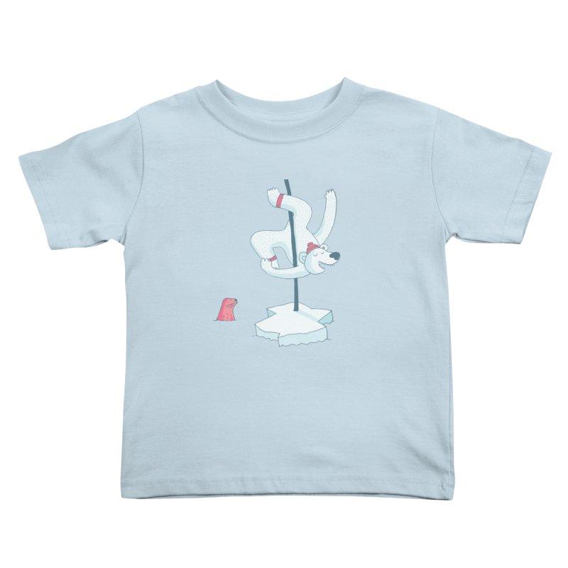 Polar Dance  Kids Toddler T-Shirt by MAKI Artist Shop