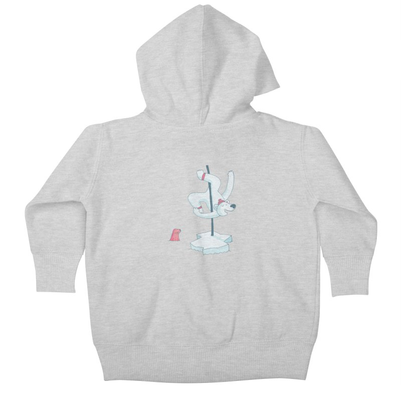 Polar Dance  Kids Baby Zip-Up Hoody by MAKI Artist Shop