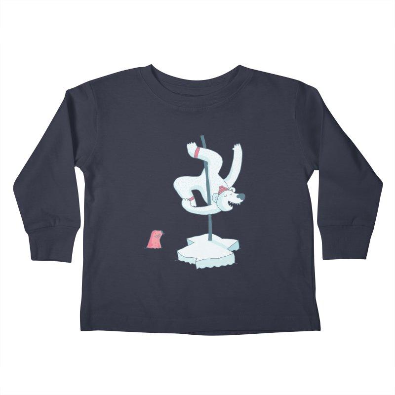 Polar Dance  Kids Toddler Longsleeve T-Shirt by MAKI Artist Shop