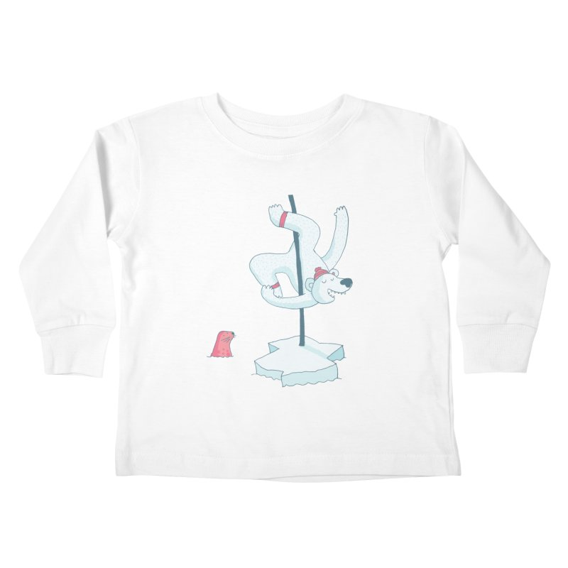 Polar Dance  Kids Toddler Longsleeve T-Shirt by MAKI Artist Shop