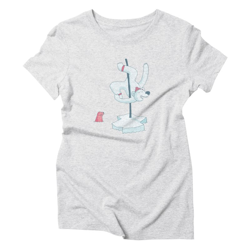 Polar Dance  Women's Triblend T-Shirt by MAKI Artist Shop