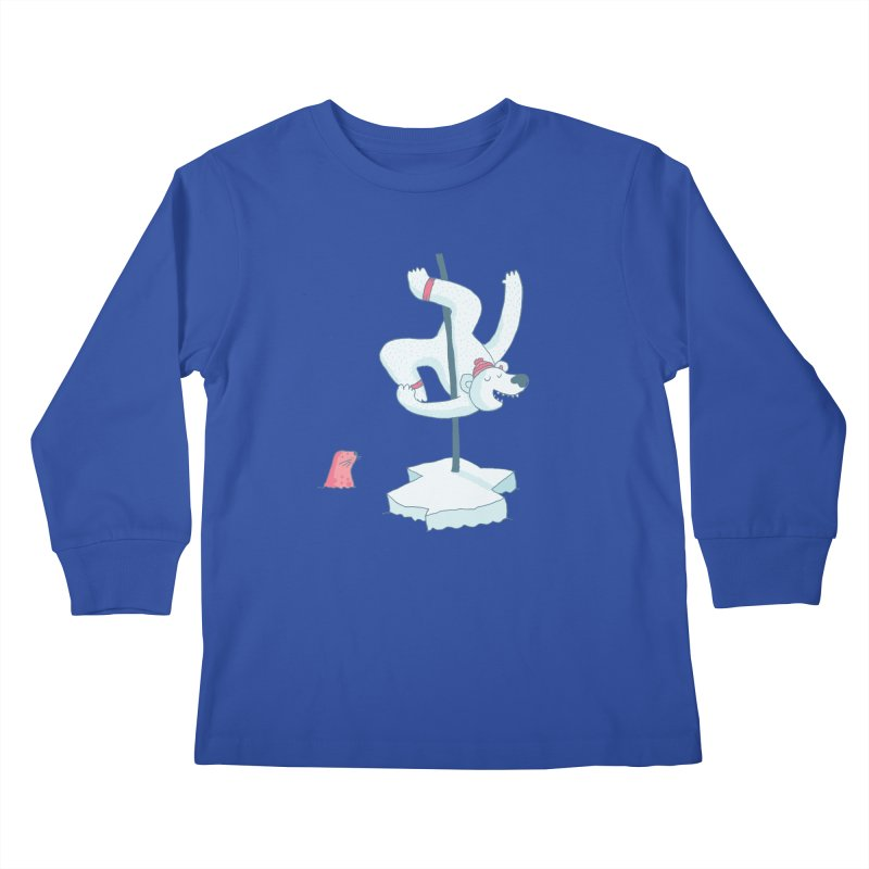 Polar Dance  Kids Longsleeve T-Shirt by MAKI Artist Shop
