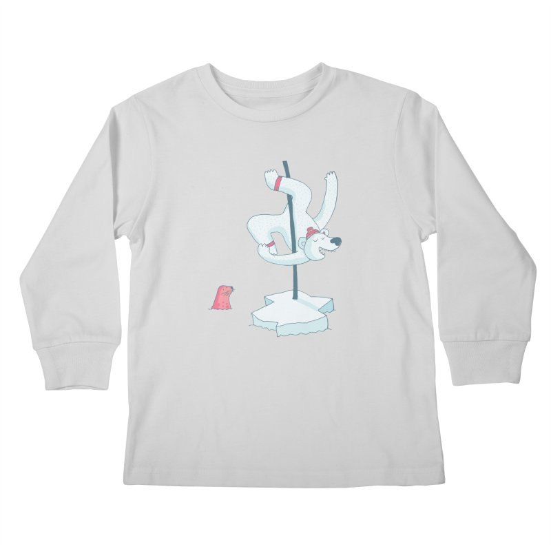 Polar Dance  Kids Longsleeve T-Shirt by MAKI Artist Shop