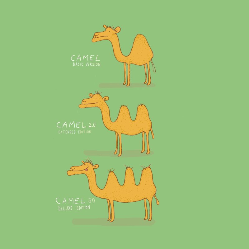 Camel Deluxe None  by MAKI Artist Shop